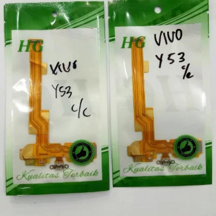 Foto Produk Flexibel flexibel fleksibel vivo y53 conektor tc cas charger mic dari king acc&sparepart hp