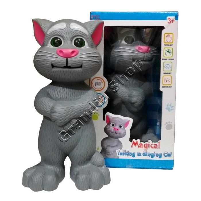 Foto Produk Boneka Kucing Bisa Bicara Nyanyi Versi 2 Bahasa Indonesia dari Grandia Shop