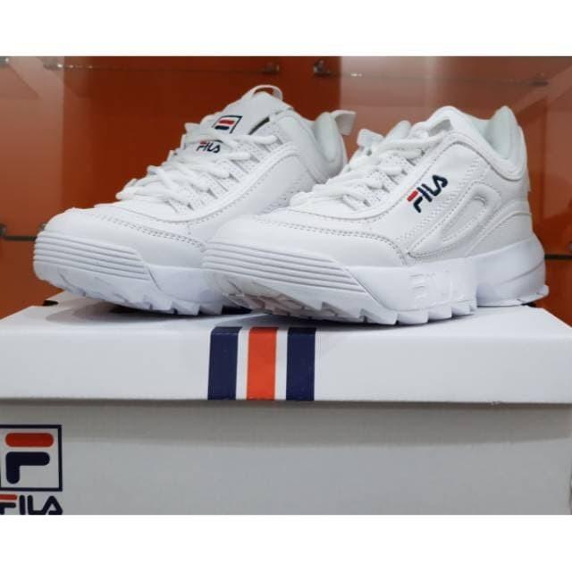 Jual Sepatu FILA DISRUPTOR II  Sneakers Sepatu Wanita - Mr ORI ... be6132b332