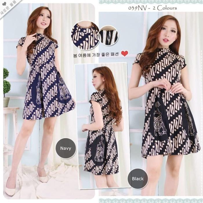 Jual Baju Dress Wanita Mini Dress Batik Dress Pendek Jakarta Utara Lisyah Tokopedia