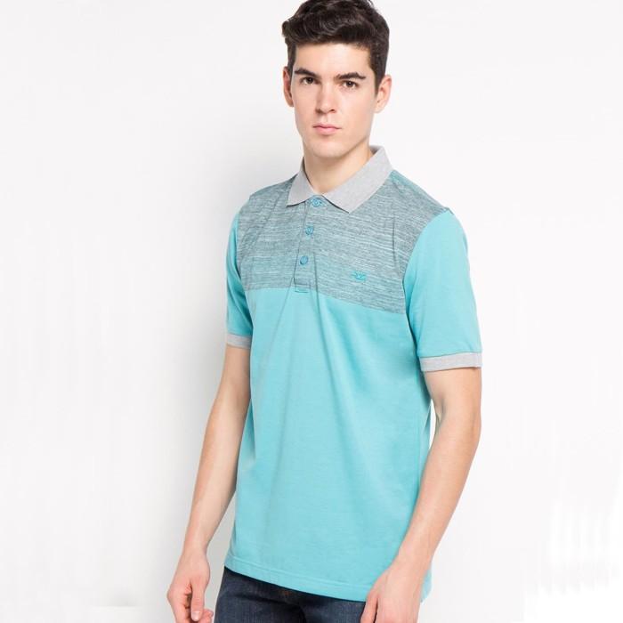 Harga Jual Kaos Polo Carvil Stripe Grey Tosca 100 Original Harga Rp 150.000