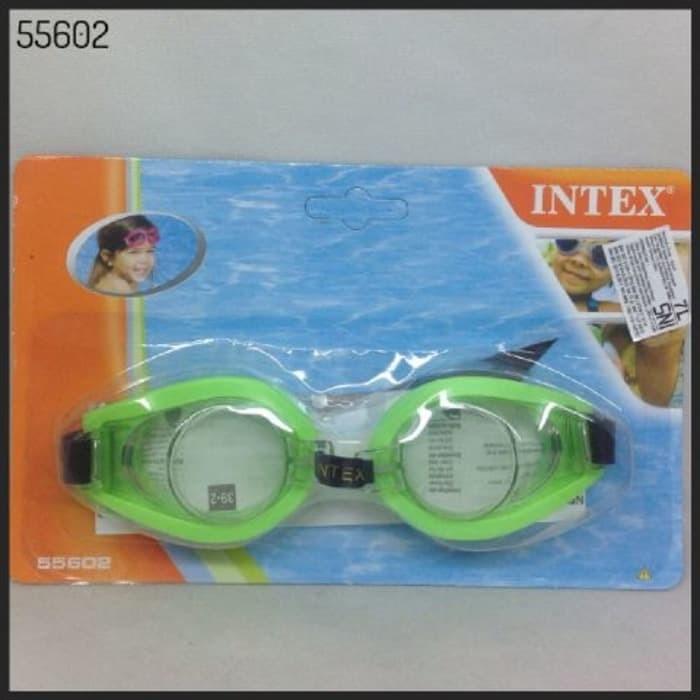 Kacamata Renang / Swimming Goggles Intex (55602) / Kacamata Intex