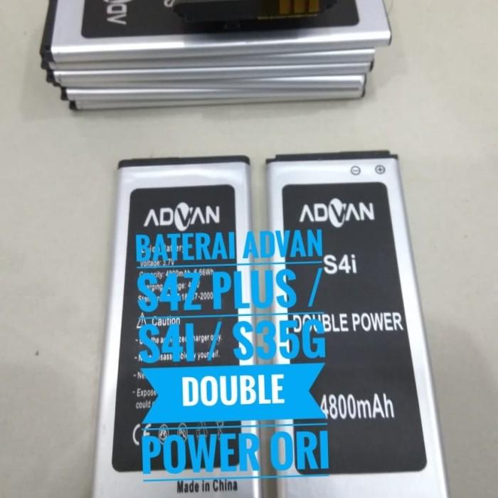 BATERAI BATREI ADVAN S4Z PLUS /S4I / S35G DOUBLE POWER ORIGINAL