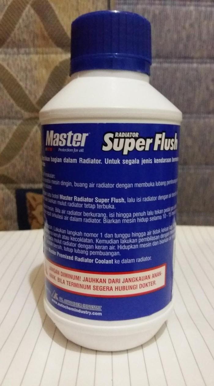 Master Radiator Super Flush - Cairan Radiator Flush / Pembersih