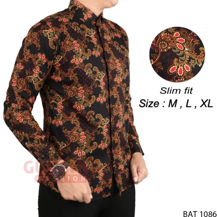 harga Baju batik pria kemeja etnik modern bat 1086 Tokopedia.com