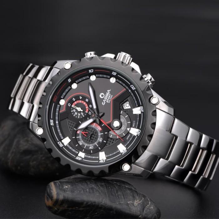 harga Casima watch c823-bs jam tangan formal sport pria waterproof 100m Tokopedia.com