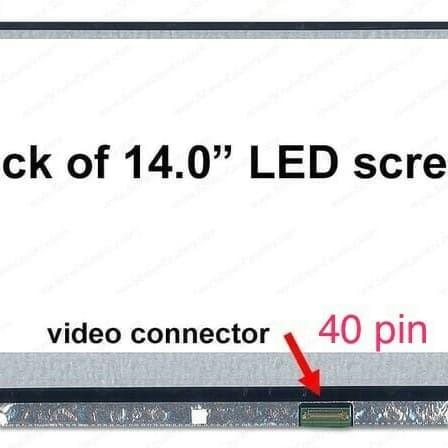 harga Layar lcd led laptop dell inpiron 14 3473 14 3421 series 14.0   40pin