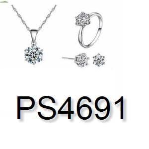 ... harga Perhiasan set import korea (jual gelang cincin kalung anting xuping Tokopedia.com