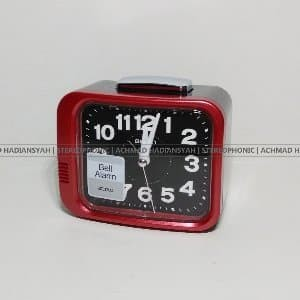 Jam Weker Seiko Alarm Qhk028 | Jam Alarm Bell | Bell Ring NEW CJ436