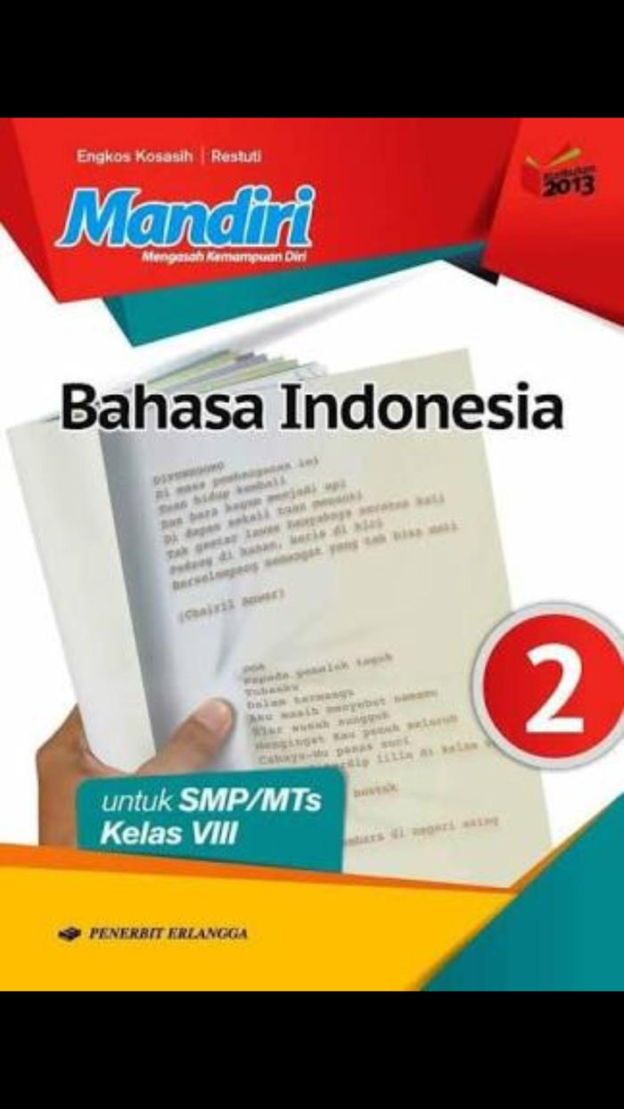 Foto Produk Buku Mandiri Bahasa Indonesia kelas 8 revisi erlangga dari Toko buku Ramu