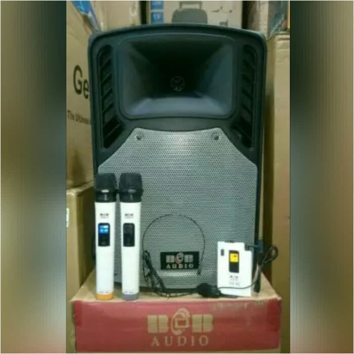 harga Speaker portable amplifier bob audio bmh 12 inch Tokopedia.com