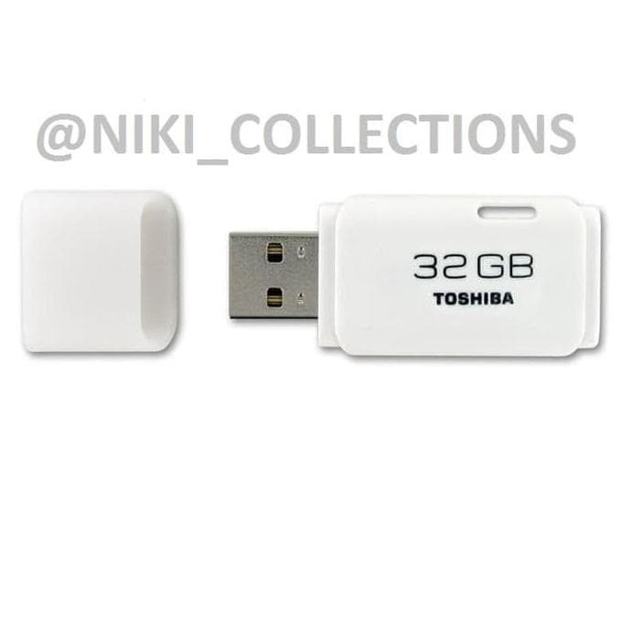 Sale Flashdisk Toshiba 32Gb Flash Disk Usb Flash Memory 32 Gb - Putih
