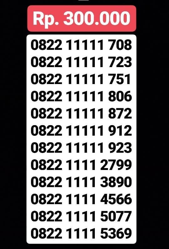 READY Kartu Perdana Nomor Cantik Telkomsel Simpati Loop Cantik