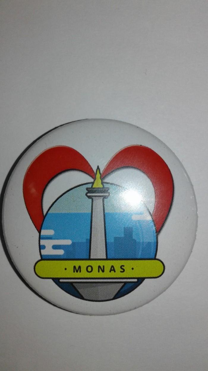 Jual PIN SOUVENIR JAKARTA MONAS KEREN BANGET Jakarta Utara Raja Tas59
