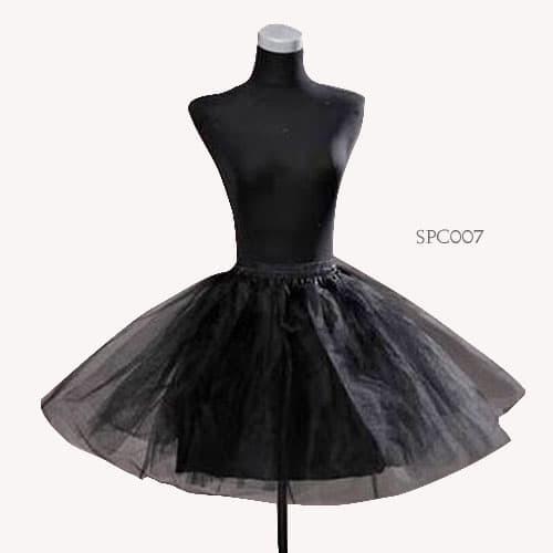 harga Rok tutu pengembang petticoat mini dress wedding hitam (3layer)-spc007 Tokopedia.com