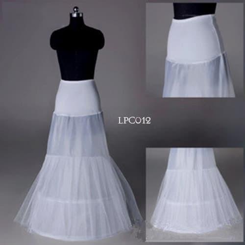 harga Petticoat semi duyung-rok pengembang gaun pengantin 2ring2layer-lpc012 Tokopedia.com