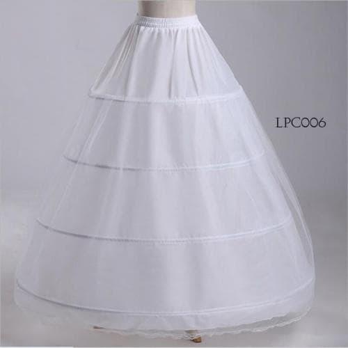 harga Rok petticoat gaun pengantin murah- rok pengembang(4ring2layer)-lpc006 Tokopedia.com