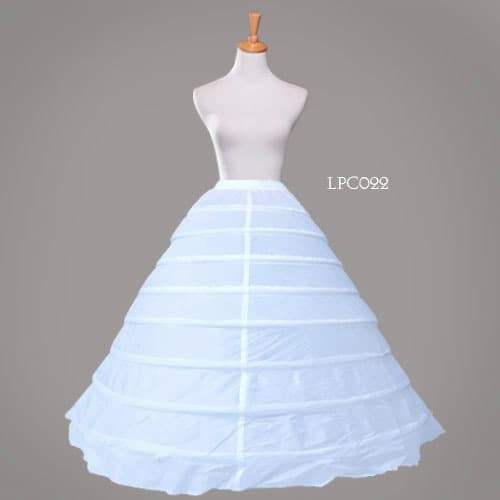 harga Petticoat super ball gown gaun wedding pengantin (8 hoop ring)- lpc022 Tokopedia.com