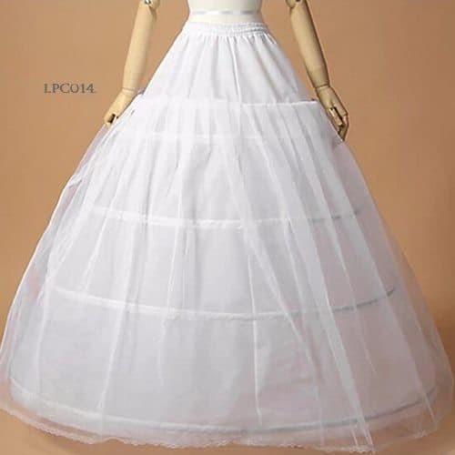 harga Petticoat wedding l rok dalaman gaun pengantin (4ring 1layer)- lpc 014 Tokopedia.com