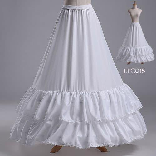 harga Rok pengembang gaun pengantin- petticoat wedding ball gown - lpc015 Tokopedia.com