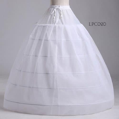 harga Rok tutu pengembang l petticoat wedding ball gown(6ring1layer)-lpc020 Tokopedia.com