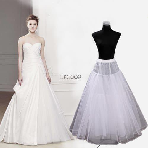 harga Wedding petticoat panjang lolita l rok dalaman gaun pengantin -lpc 009 Tokopedia.com