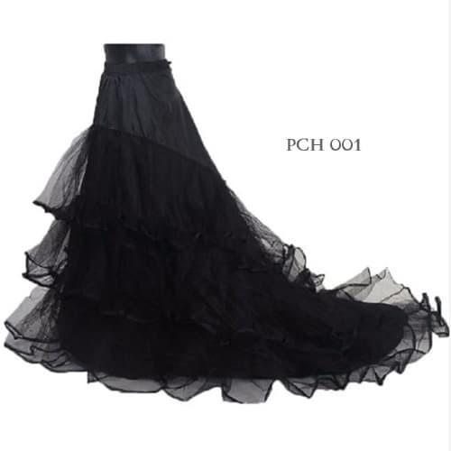 harga Petticoat wedding ekor hitam- pengembang rok gaun pengantin- pch001 Tokopedia.com
