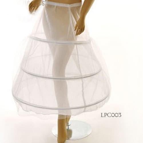 harga Petticoat wedding panjang l rok dalaman gaun pengantin (3ring)-lpc 003 Tokopedia.com
