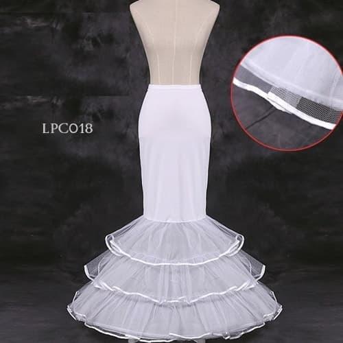 harga Rok petticoat duyung wedding l pengembang rok mermaid 3 layer - lpc018 Tokopedia.com