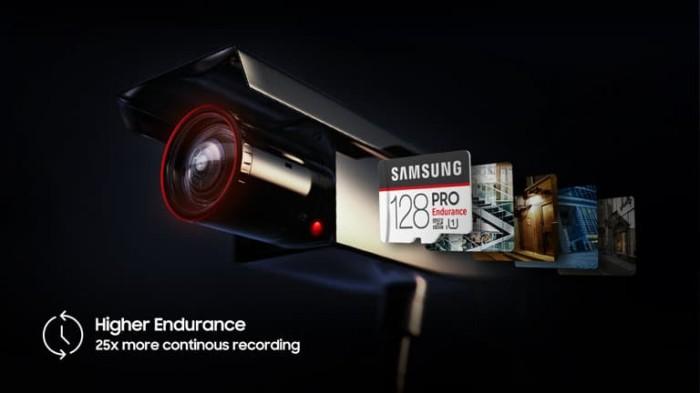 harga Samsung pro microsd 128gb endurance speed upto 104mbps support 4k fhd Tokopedia.com