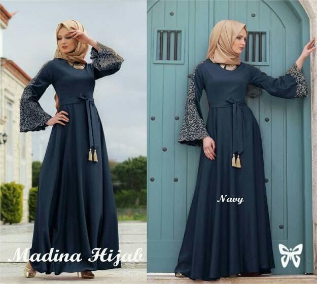 Jual Baju Muslim Turkey Gamis Abaya Syar I Jakarta Utara Chikaa Fashion Tokopedia