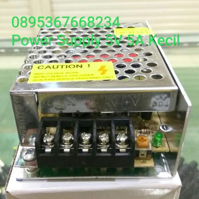 Foto Produk Power Supply 5V 5A Adaptor 5V 5A Body kecil dari cctv indojakarta