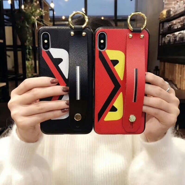 new products e2295 76eb7 Jual IPHONE 7 / IPHONE 8 New!!! SOFTCASE FENDI HAND HOLDER CASE SOFT -  Tokoaccboss | Tokopedia