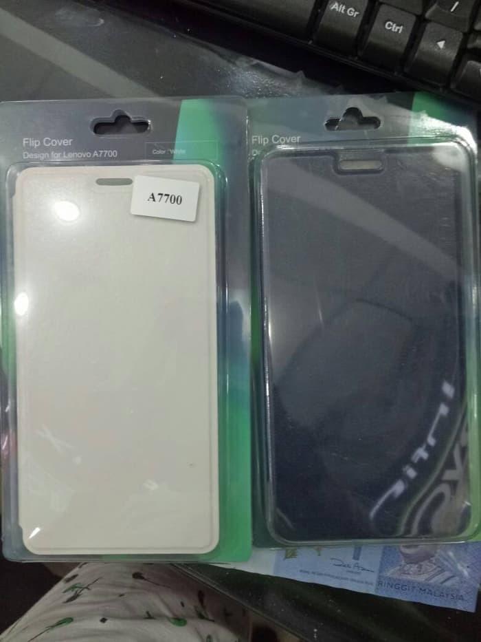 new products 6a859 a76a4 Jual FLIP COVER LENOVO A7700 - Hitam - Prima Galeri Phone shop | Tokopedia