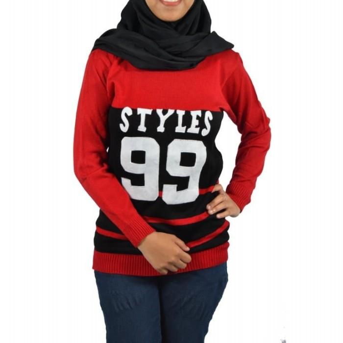 harga Styles 99 sweater -baju rajut-sweater rajut-sweater wanita Tokopedia.com