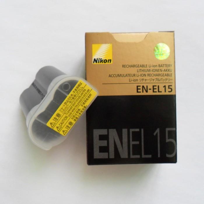 Jual EN-EL15 Camera Battery For Nikon D850 810 750 610 7100 7200 7500 (Kw)  - Kota Administrasi Jakarta Pusat - Toko Digital Shop | Tokopedia