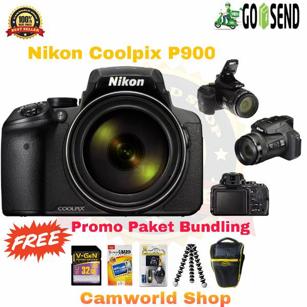 harga Nikon coolpix p900 / paketan bonus Tokopedia.com