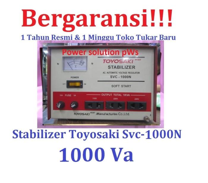 harga Stabilizer toyosaki 1000va original bergaransi [ toyosaki svc1000n ] Tokopedia.com