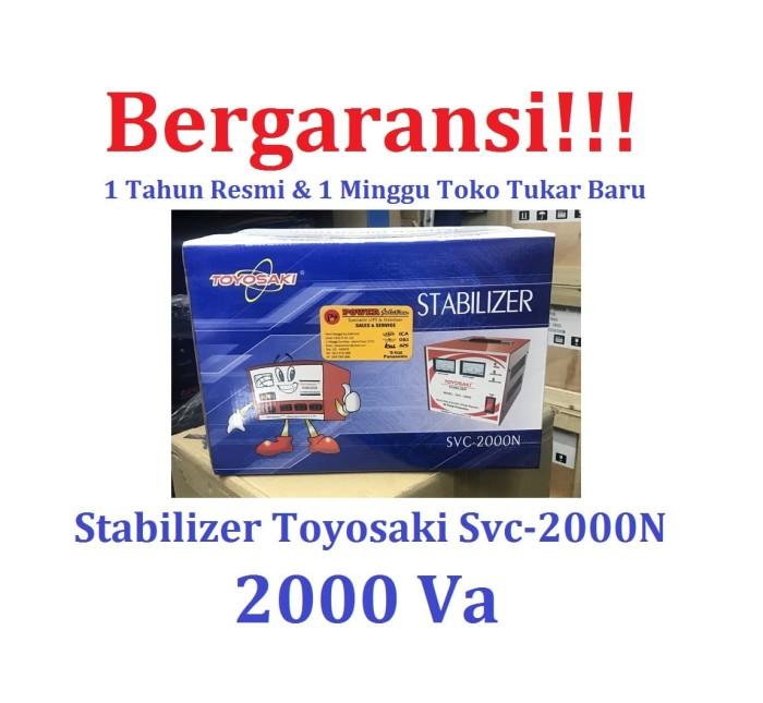 harga Stabilizer toyosaki 2000va original bergaransi [ toyosaki svc2000n ] Tokopedia.com