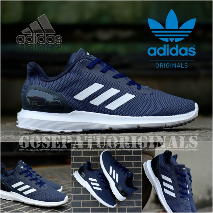 quality design d04b6 13224 Sepatu Original Adidas Cosmic 2 Blue Navy New Sneakers Casual - Navy, 43