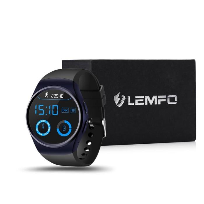 801fc419e PROMO Gadget  LEMFO LF18 Smartwatch Phone 2G+Mini SIM Card+Layar