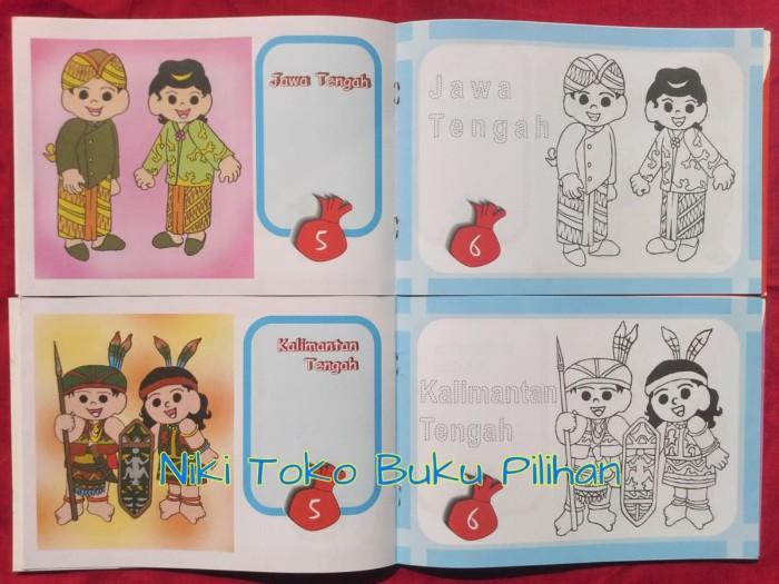 Jual Mewarnai Boneka Pakaian Adat Dki Jakarta Niki Toko Buku