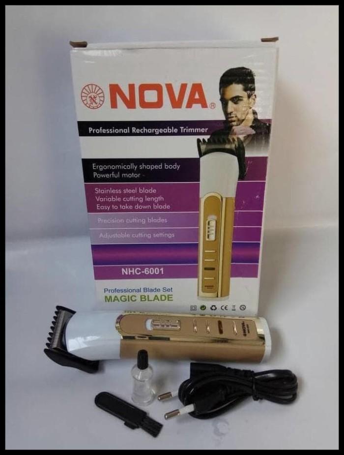 Alat Cukur Rambut Portable Recharger Hair Clipper Buat Bayi Dan Dewasa