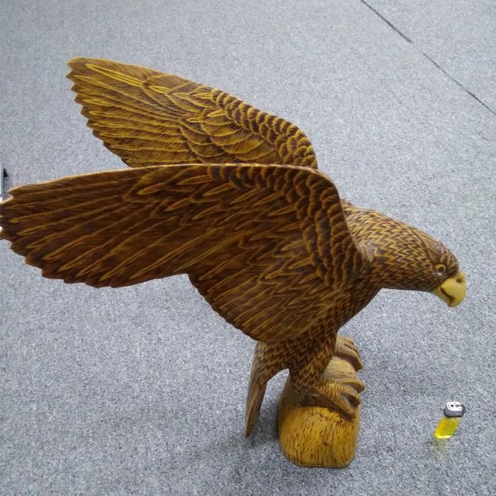 Jual Kayu Ukiran Burung Garuda Besar Jakarta Barat Wonderful