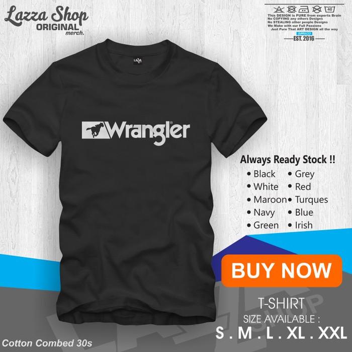 List Harga T Shirt Baju Kaos Distro Wrangler Terbaru November 2018 ... 06f9bb0549