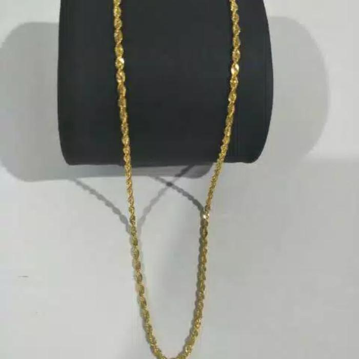Hasil gambar untuk kalung emas asli 2 gram