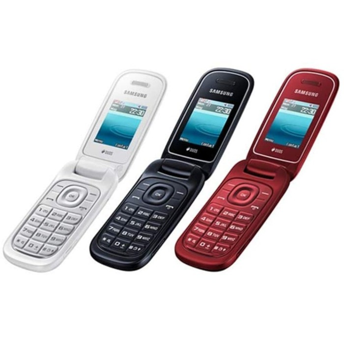 Jual Samsung Lipat Flip Caramel Gt E1272 Samsung Hp Murah Handphone
