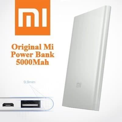 Xioami Mi powerbank 5000Mah Original