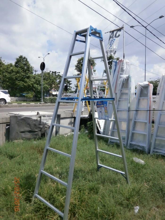 harga Tangga lipat aluminium 3 meter Tokopedia.com