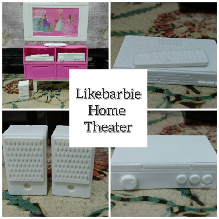 harga Furniture home theater barbie Tokopedia.com